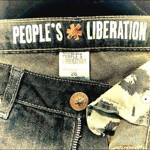 Anthropologie People's Liberation jeans